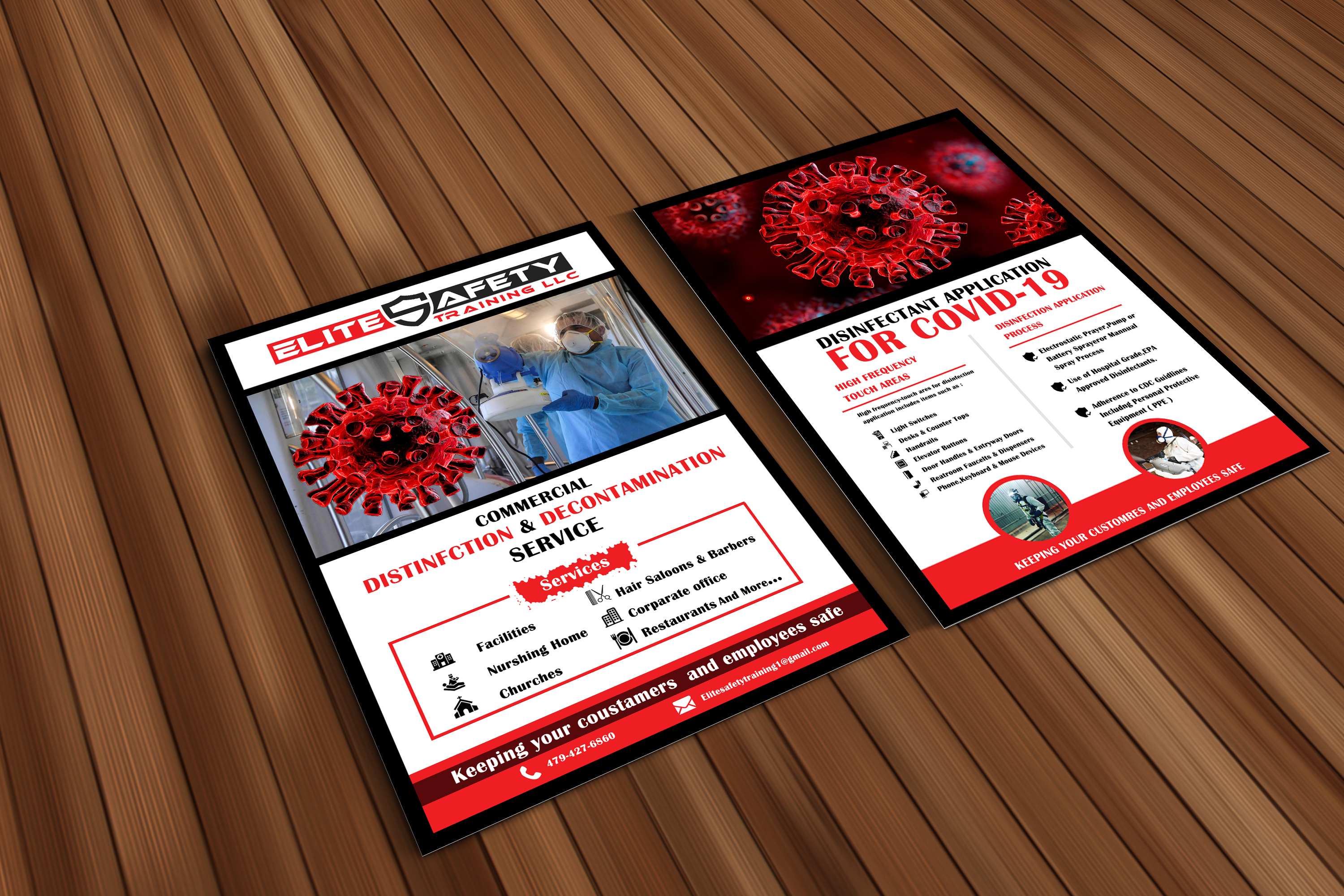 I will do creative and professional flyer design
