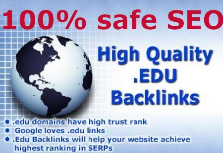 50+ EDU & GOV websites Safe Back-links with high DA PA