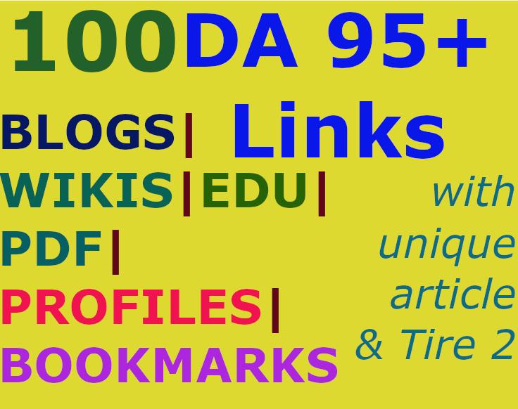 100 backlinks in edu pdf gov wiki sites