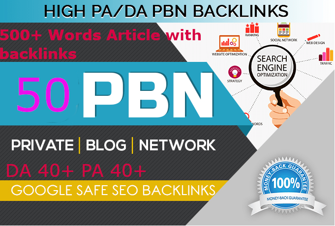 Build 50 Backlink, web 2.0 and Dofollow with high DA/PA in your webpage with unique website