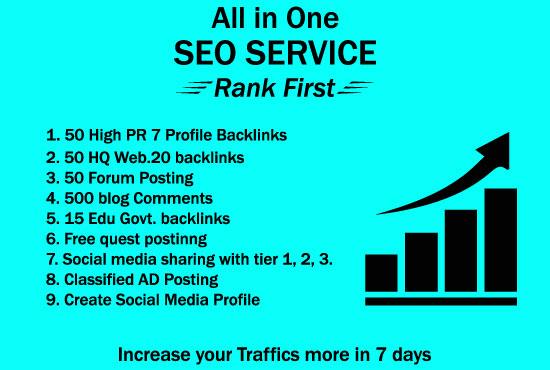 I Will Build High PR Quality Do follow SEO Backlinks