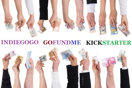 I will promote indiegogo,  gofundme or any crowdfunding campaign to real backers and donors