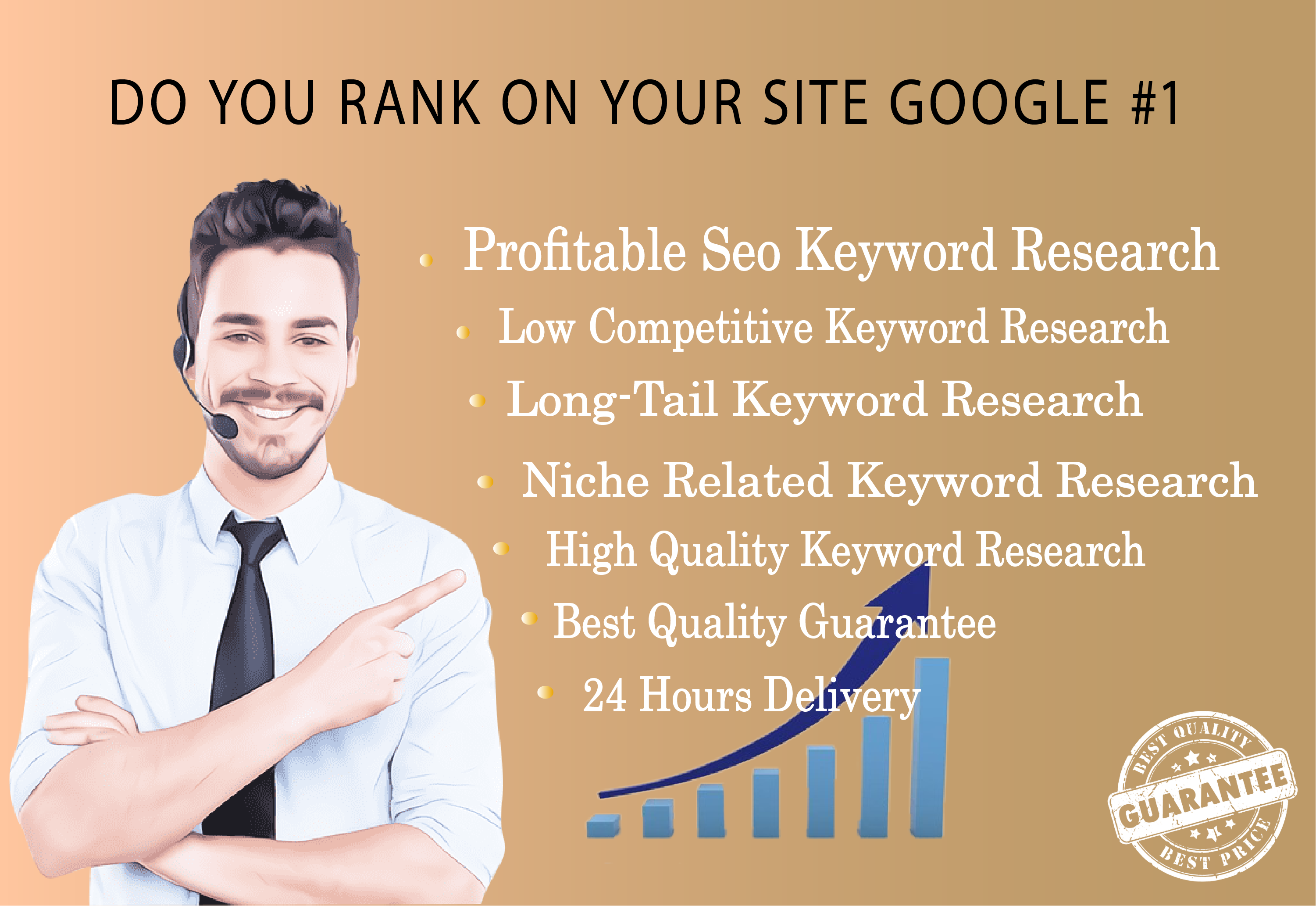 I will research best profitable keywords for your niche