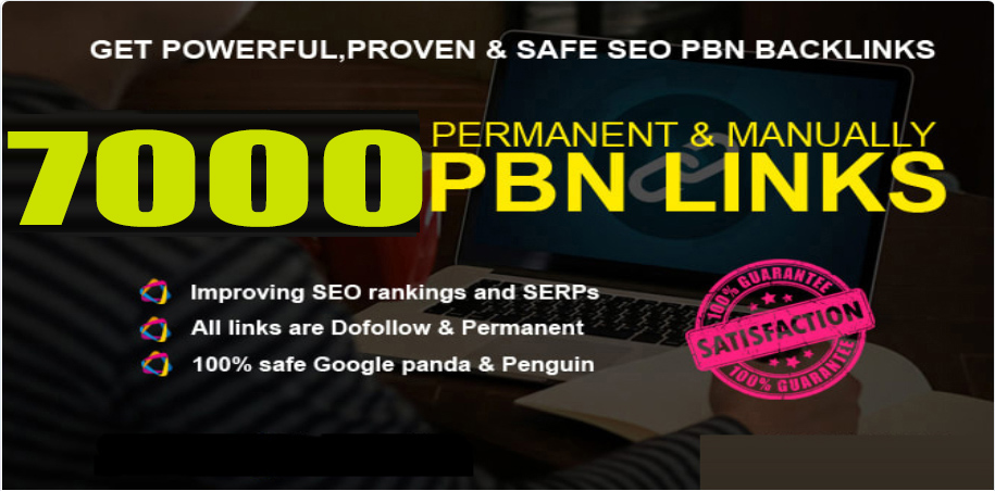 Get 7000+ powerful and safe PBNs, WEB2.0 Backlink with DA 70+ PA 80+ with unique website