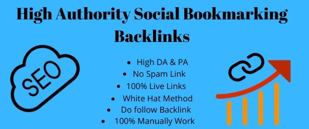 I will provide top 30 high quality social bookmarking backlinks for your website
