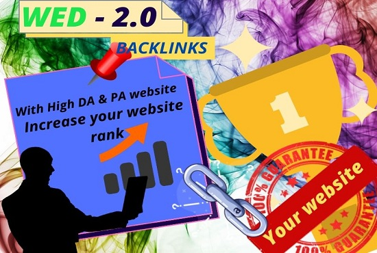 I will build 15 high quality WEB2.0 back-links