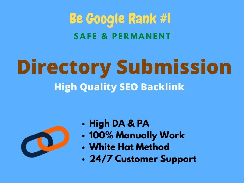 I will do 50 High Quality Directory Submission SEO backlinks