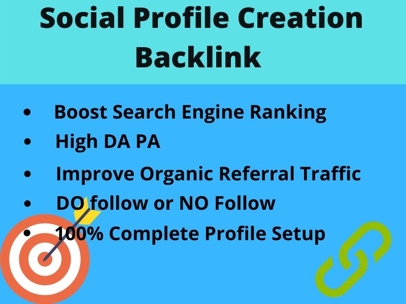 I will do 30 &lsquo Profile Creation&rsquo that support you to reach one step ahead from your competitors.