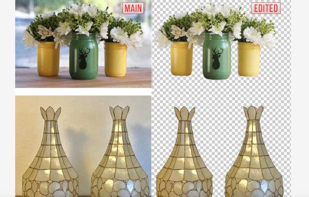I will do clean clear photo background removal super fast