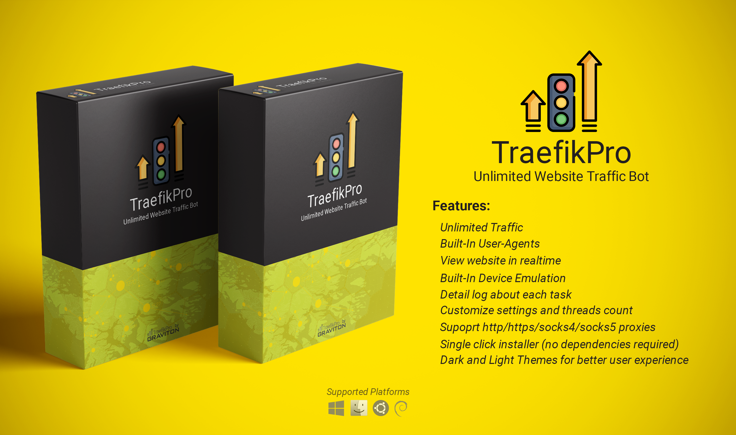 TraefikPro - Generate UNLIMITED Realtime Website Traffic