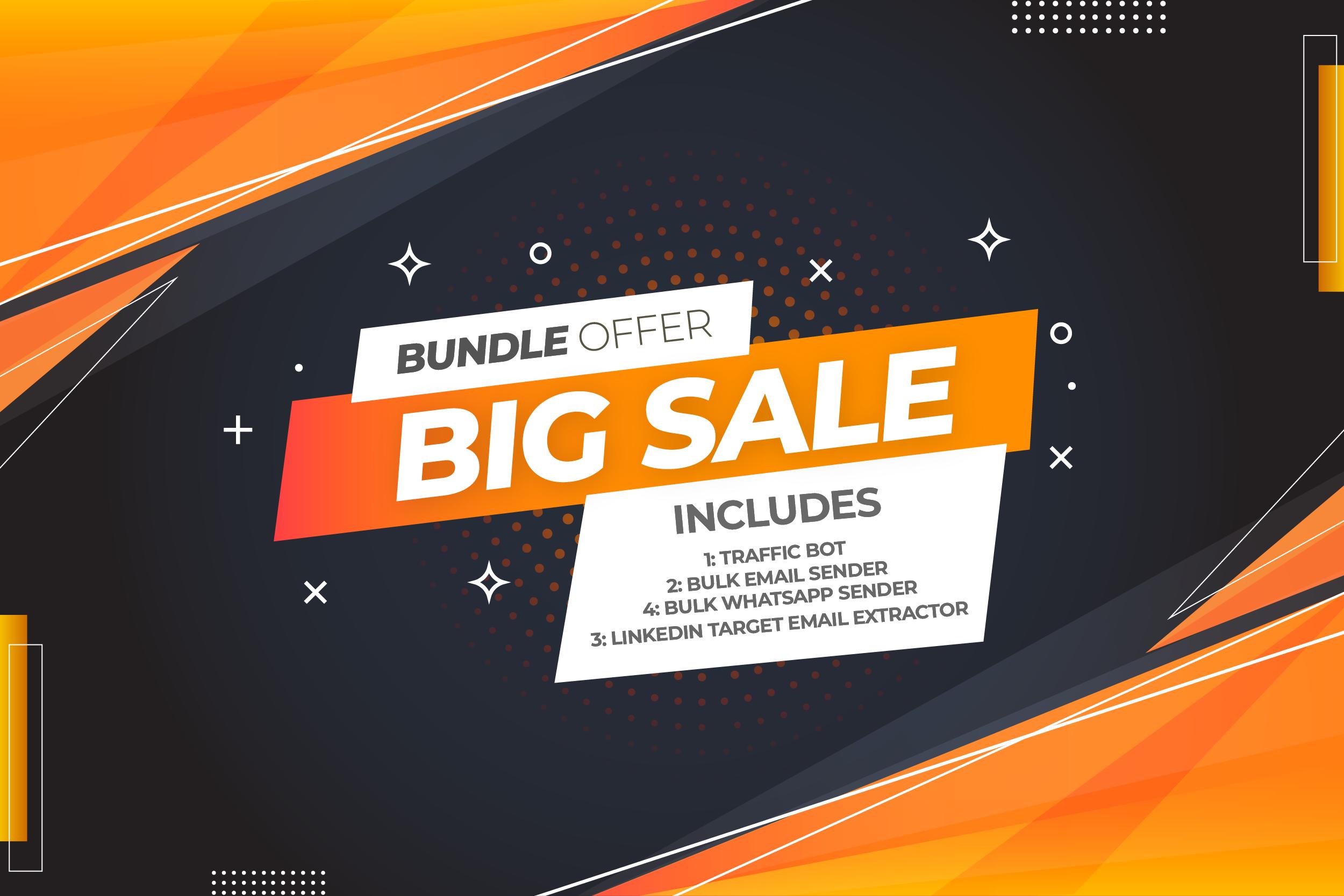 4 Softwares Bundle Offer Limited Time