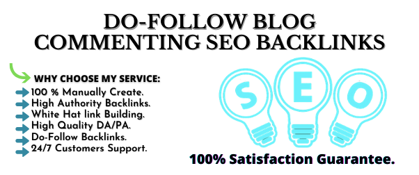 Create 60 High Quality Manual Niche Relevant Dofollow Blog Commenting Backlinks Service