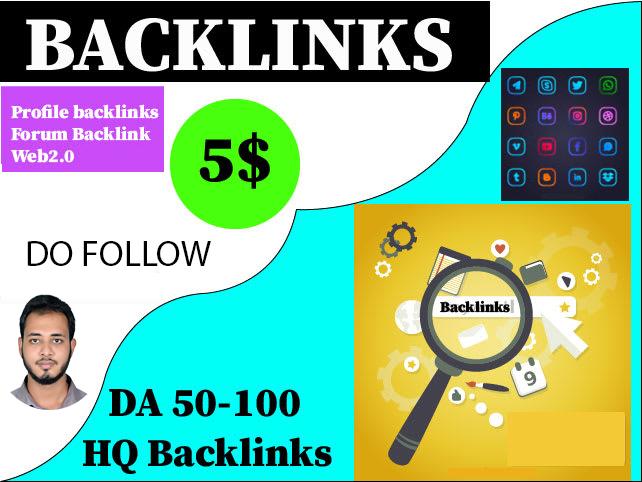 I will Provide 200 High Quality DoFollow SEO Profile Backlinks