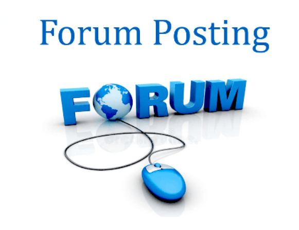 I will create 50 High Quality Forum Backlinks