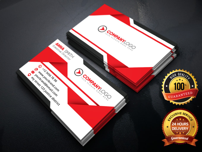 I will do outstanding business card design