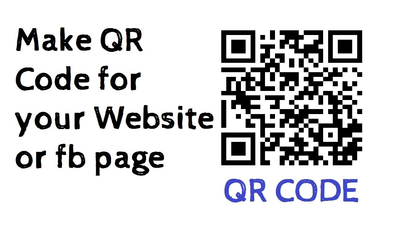 I will make a qr code with your logo