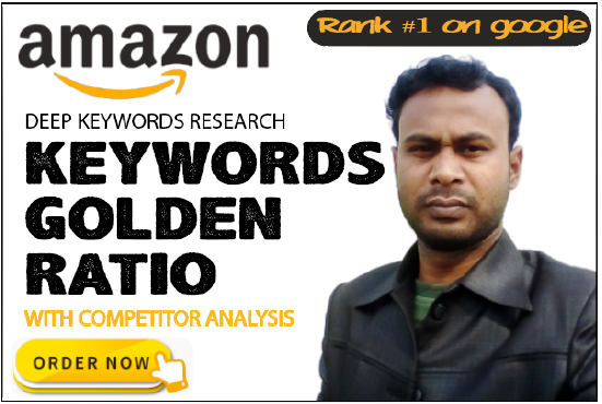 I will do kgr keyword research for amazon affiliate niche site