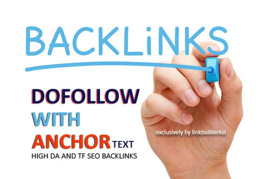 Build Up 150 Anchor Text SEO Do-follow Backlinks