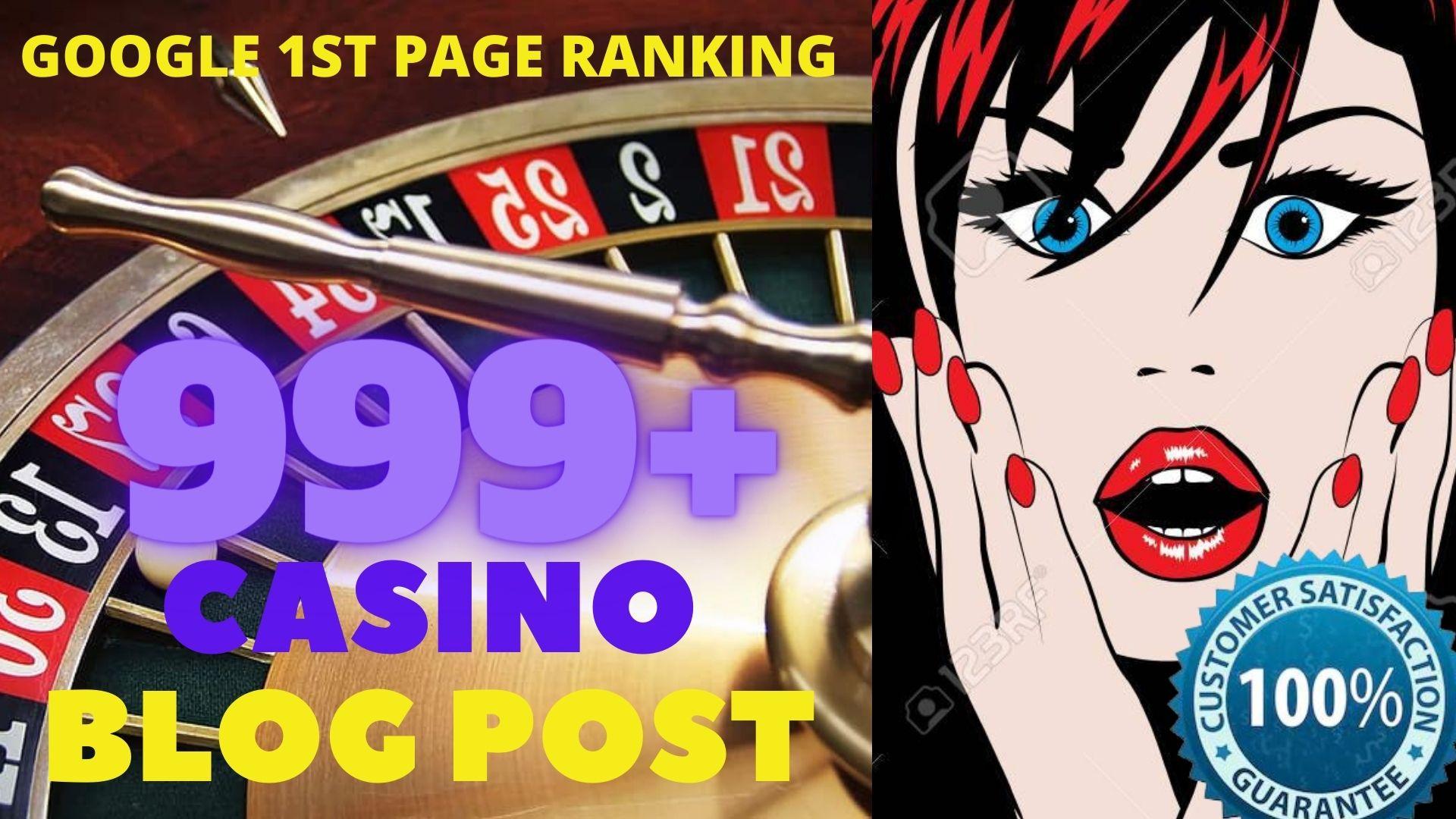 I WILL DO 999 CASINO/POKER/Gambling/Sports Betting/judi bola Pbn Backlinks online casino unique site