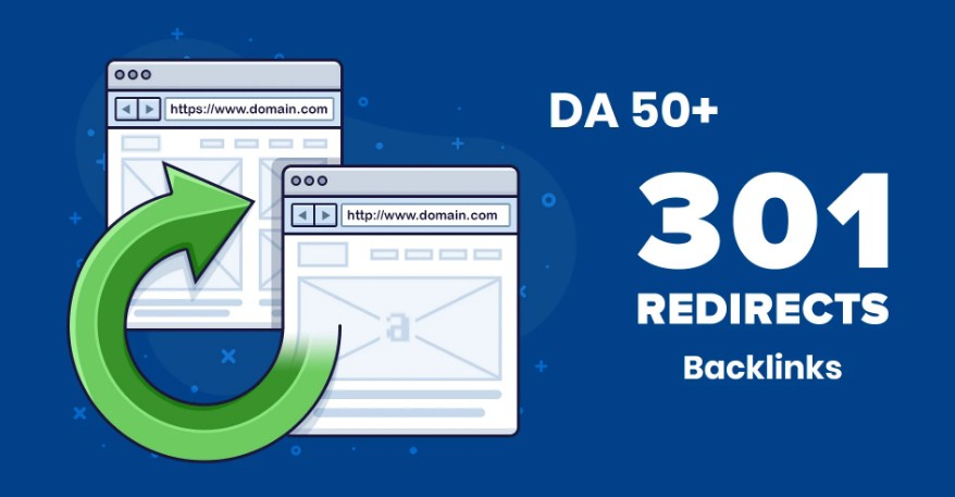 I will build high dr backlinks for your sites via 301 redirects