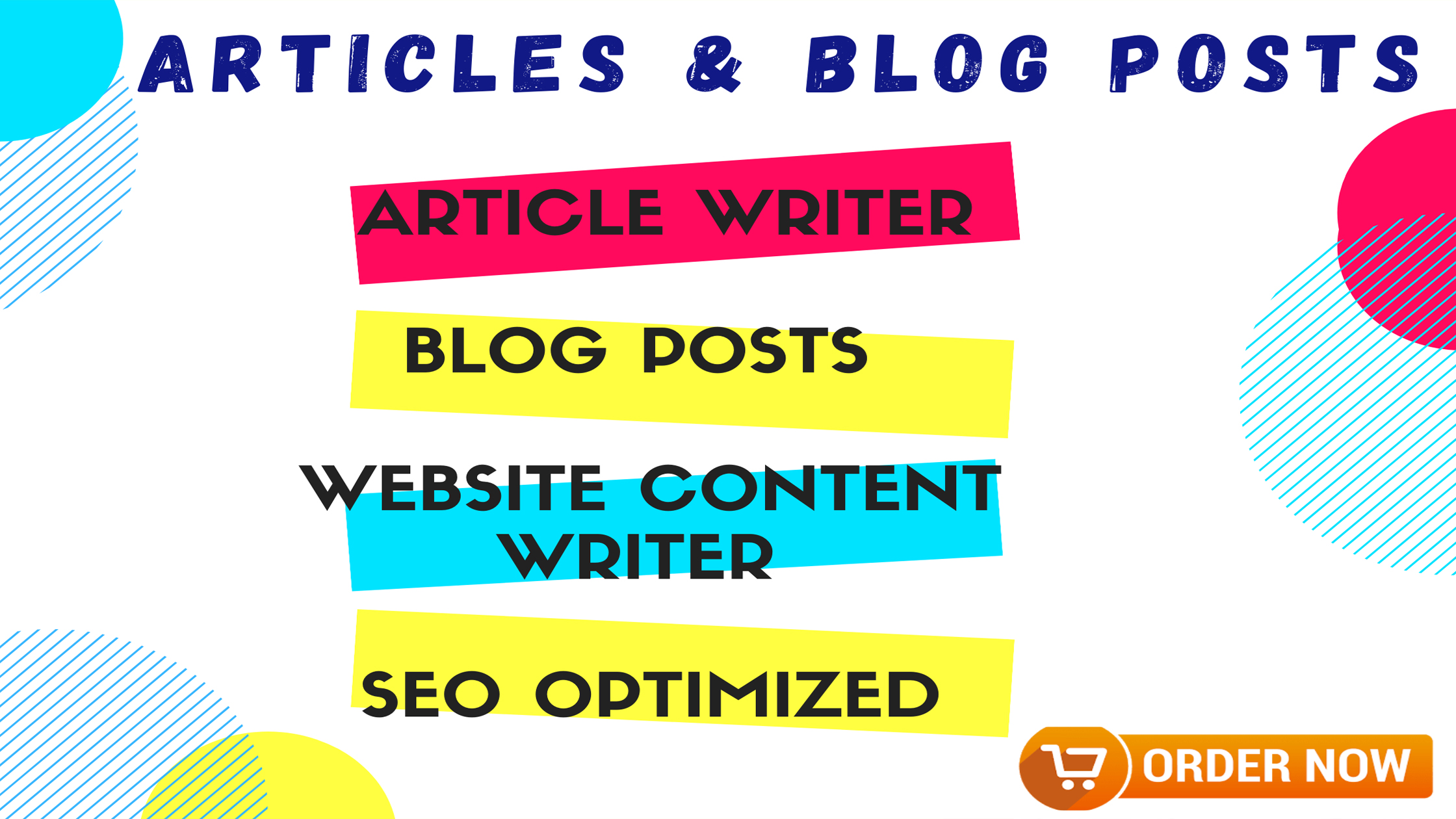 I Will 500 Words Article Writing and Blog Posts SEO Optimized