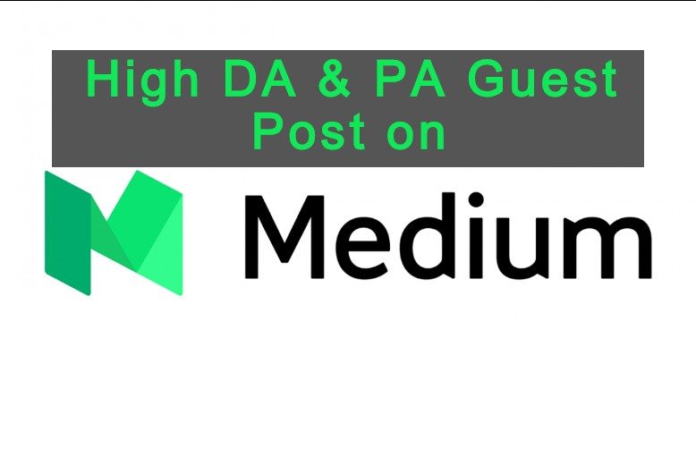 I will Publish Guest Post on Medium With Unique Article 600 to 750 Words