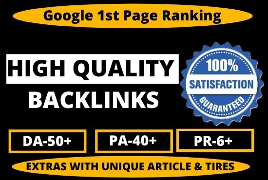 1000+ Permanent High Quality PBN Backlink DA 50+ PA CF TF From High Authority Unique Websites
