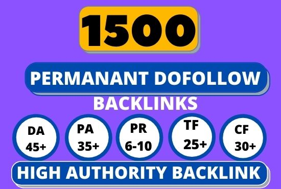1500+PBN Web 2.0 WhaiteHat Dofollow Backlink with High DA 45 /PA Google homepage with unique website