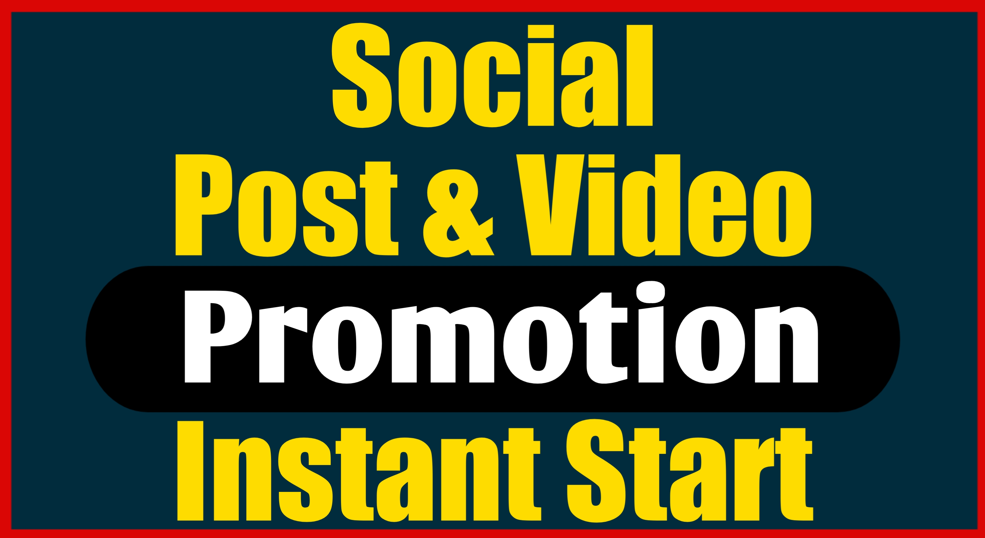 Instsnt Start Social Post Video Promotion With Top Notch Audience