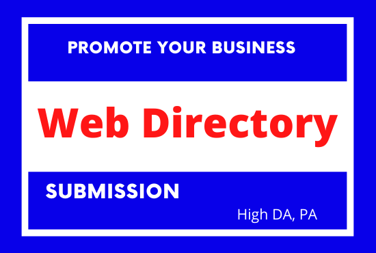 I will do post manual directory submission high PR website