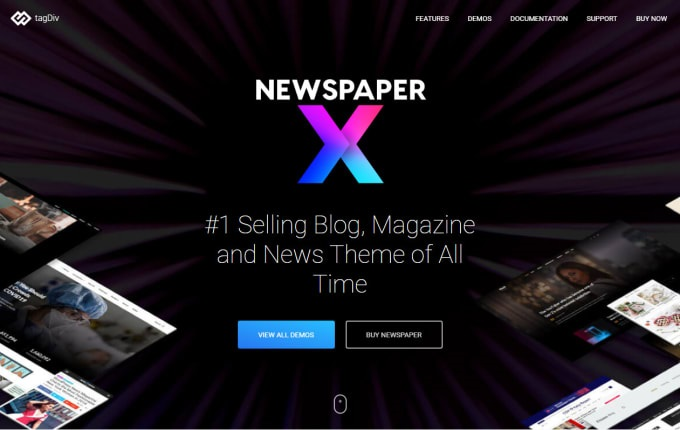 I will install newspaper x theme premium on your wordpress website