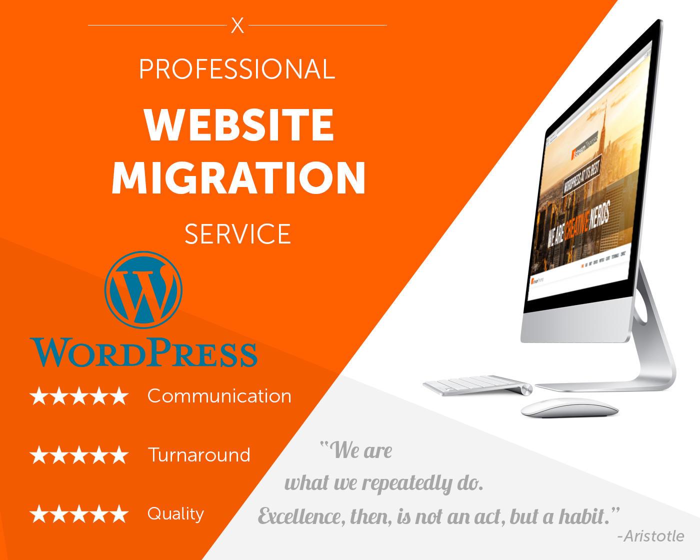 Clone,  transfer,  move,  migrate wordpress website in 3 hours