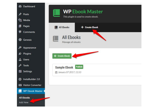 Automatically create ebook from your blog posts with this plugin