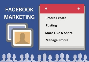 I will promote your facebook marketing