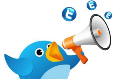 I will tweet your message and link 25 times to my twitter account