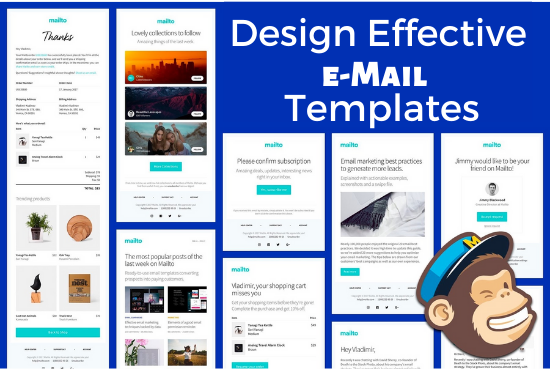 I will design effective email templates