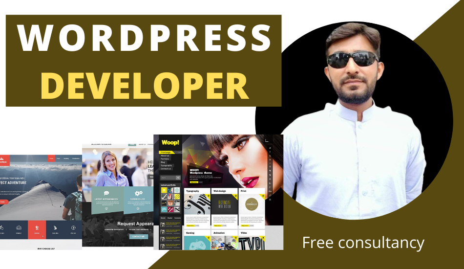 I will design responsive professional wordprss website with Elementor pro