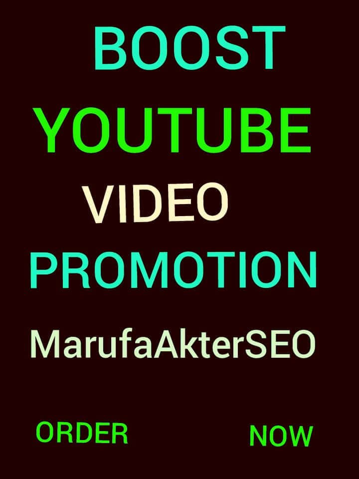 high quality YouTube video promotion social media marketing supper fast