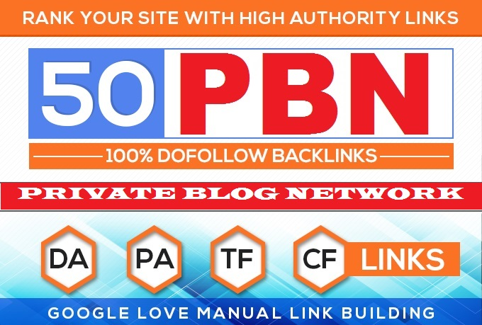 Build 50 Backlink,  web 2.0 and Dofollow with high DA/PA in your webpage with unique website.