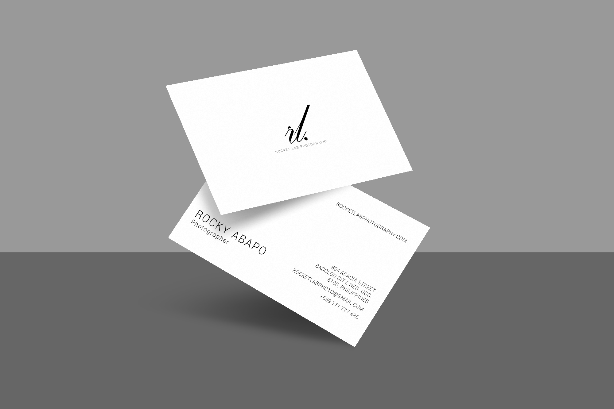 Minimal Business Card Design - Satisfaction Guaranteed