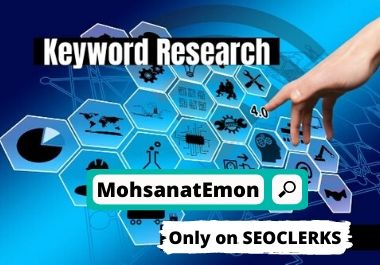 I'll do SEO KeyWord research for your targeted niche