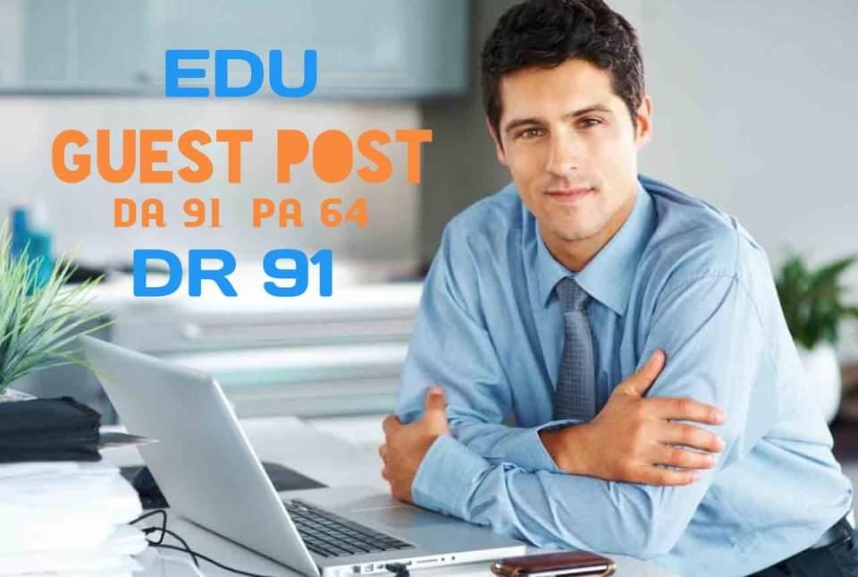 I will do guest post on my edu website DA 91 DR 91