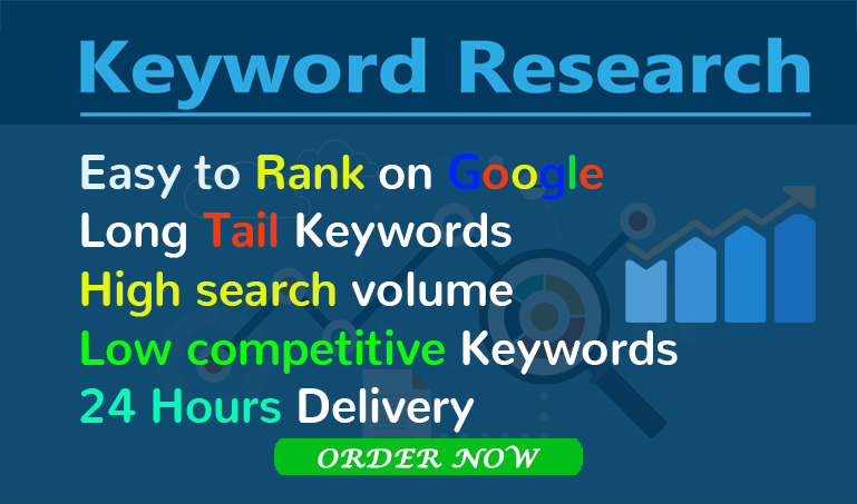 I will do depth SEO keyword research for your targeted niche