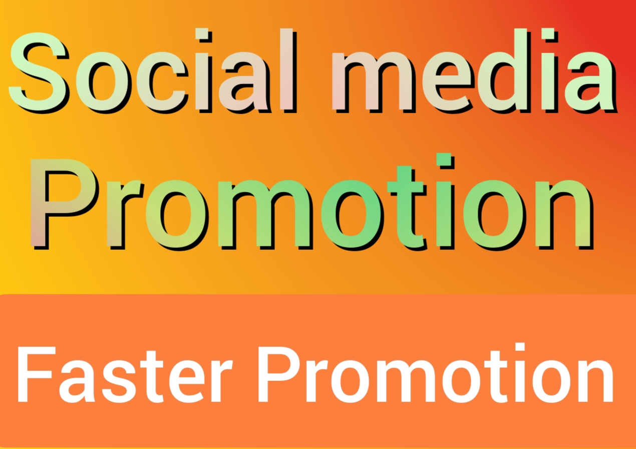 High quality social media marketing by Sumon11
