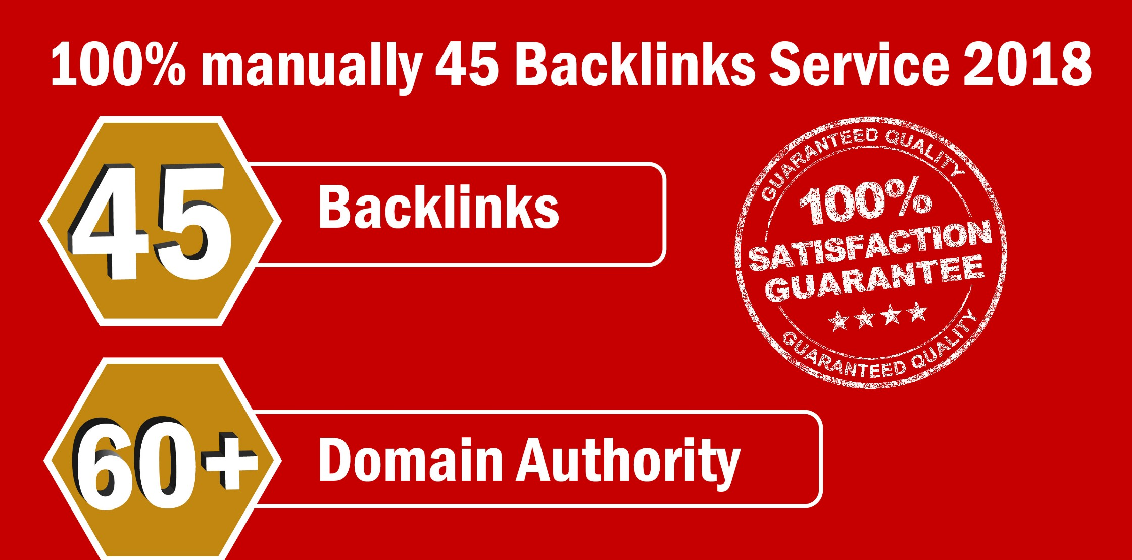 Limited Time- 45 Backlinks from High DA-60+ Domains-Skyrocket your Google RANKINGS NOW for 5