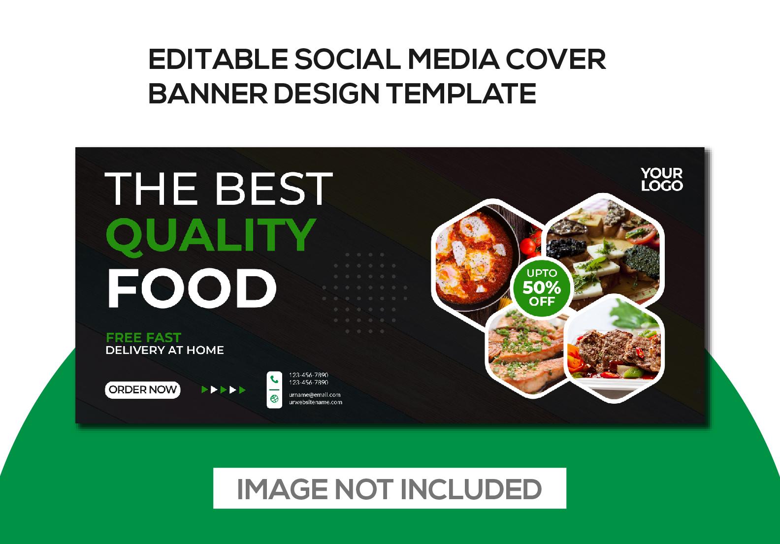 I will do social media banner design or any cover design