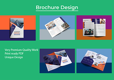 I will create business flyer and brochure design