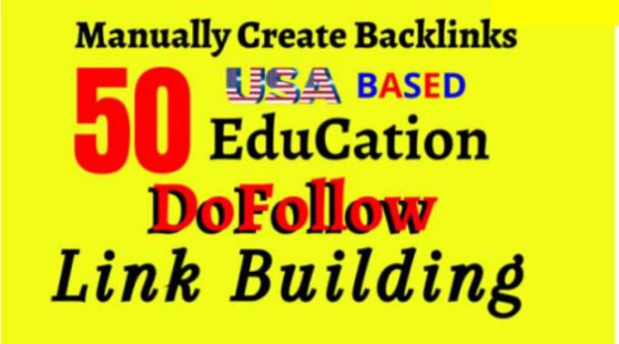 Do 50 pr9 dofollow SEO backlinks link building for google top ranking