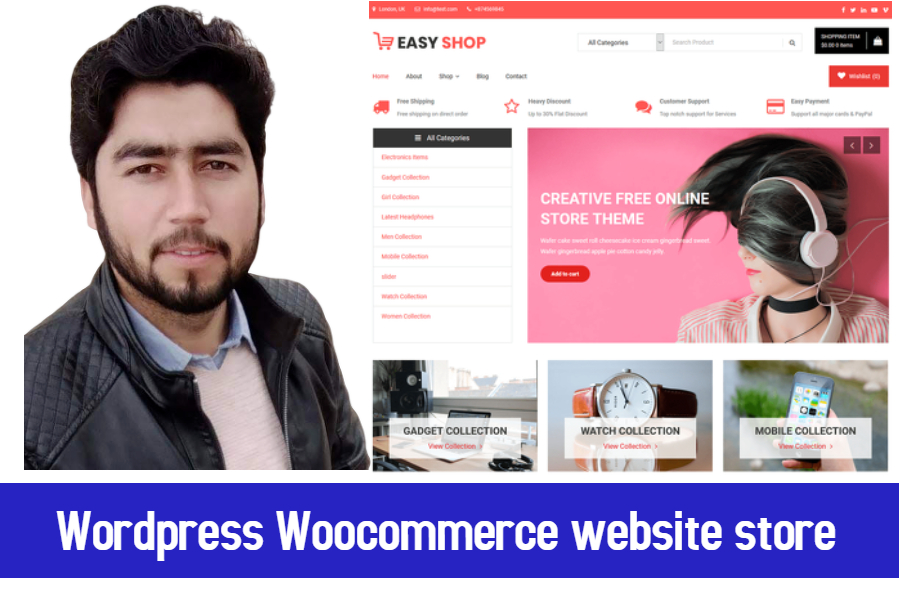 I will build Wordpress woocommerce store with woocommerce plugin