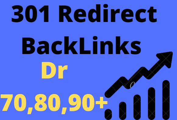 I will provide 1000 301 Redirect Backlinks From 70, 80, 90 Plus Dr sites Fast